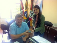 Prefeito Adere ao Cartão HCC - Hospital de Caridade Canguçu