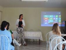 O Hospital recebeu a palestrante Beatriz Helena Pinho - Hospital de Caridade Canguçu