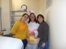 Visita especial da Coelhinha da Páscoa - Hospital de Caridade Canguçu