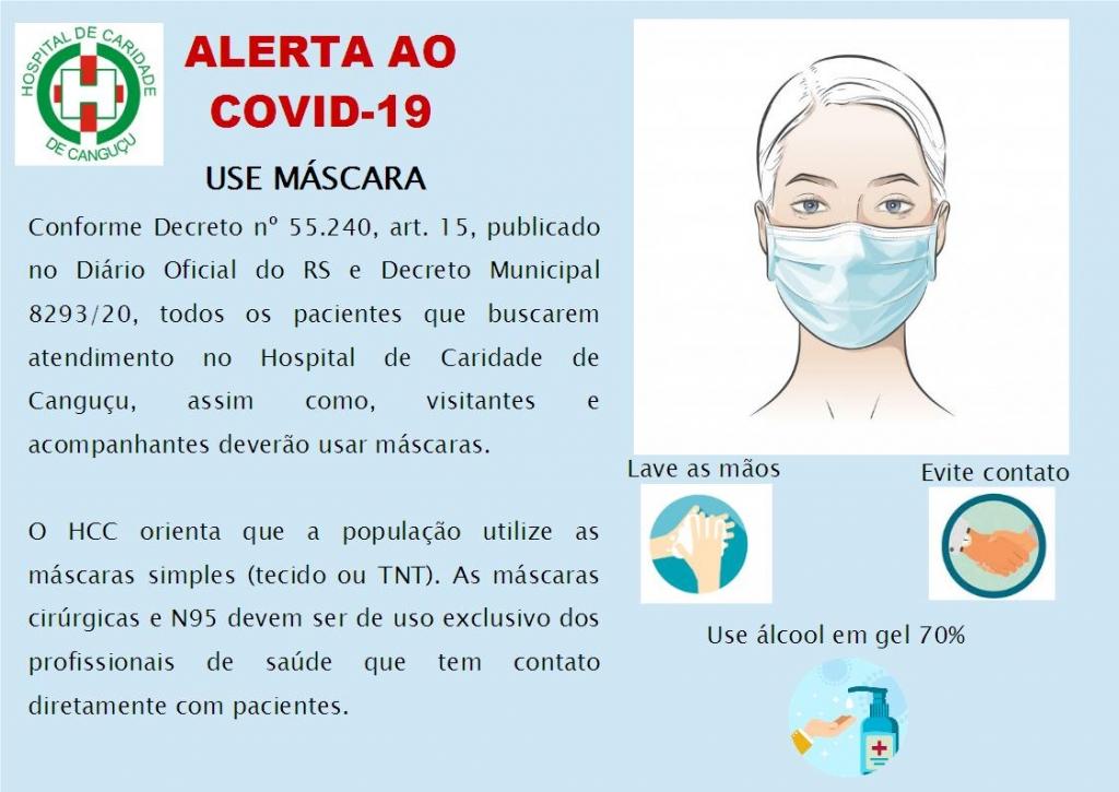 Todos juntos contra o COVID-19! - Hospital de Caridade Canguçu