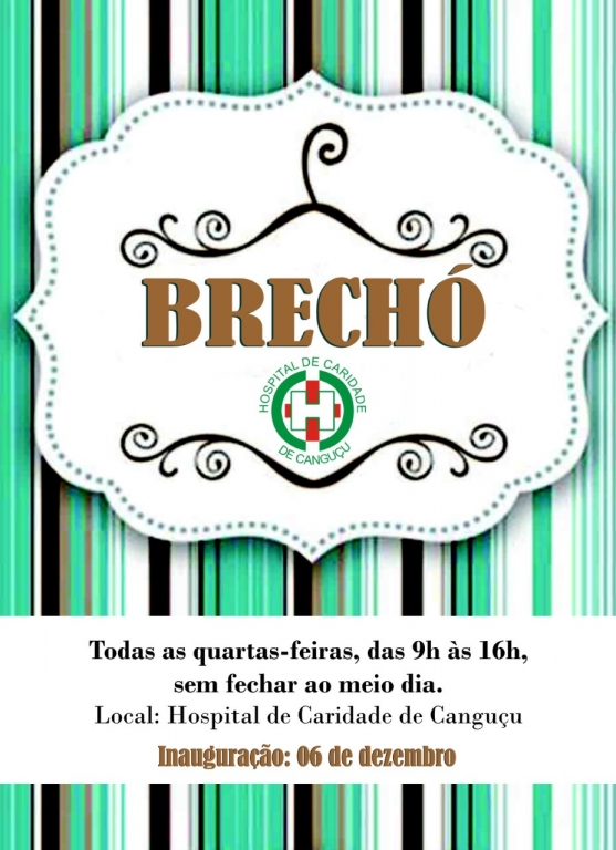 Brechó - Hospital de Caridade Canguçu